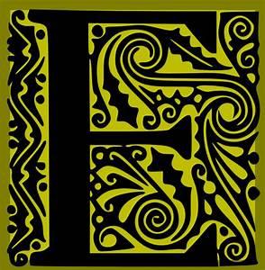 decorative letter e clip art at clkercom vector clip With decorative letter e