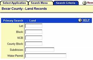 How to research a property39s history using bexar county39s for Land documents search