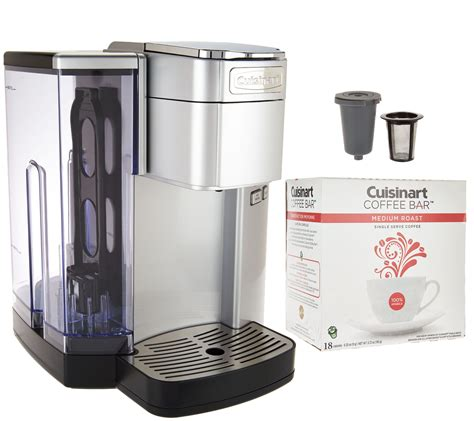 2.4 how often do you need to clean coffee maker? Cuisinart SS10 Single-Serve Coffee Maker w/Barista Cup & 18 Coffee Pods - Page 1 — QVC.com