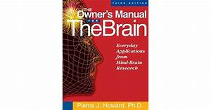 The Owner U0026 39 S Manual For The Brain  Everyday Applications