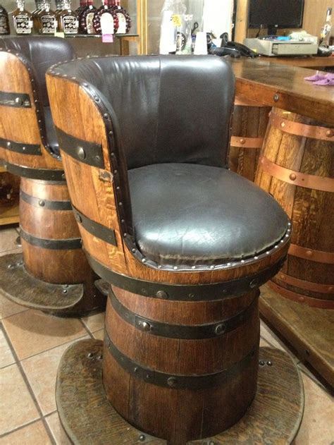 wine barrel bar stools  barrels customized
