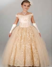 Modest Flower Girl Dress