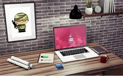 Workspace Minimalist Objectives Smart Mock