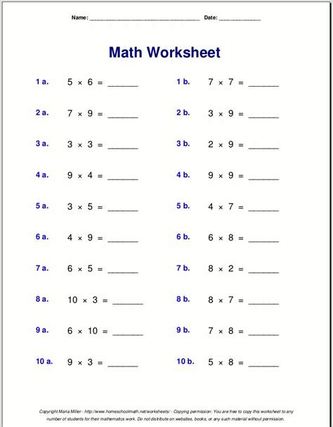 multiplication worksheets grade 4 pkchitthu