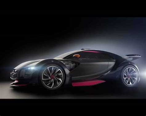 Sports Car Concept by Citro 235 N Survolt Electric Sports Car Concept 2010