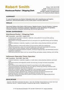 Relevant Experience Resume Samples Packer Resume Samples Qwikresume