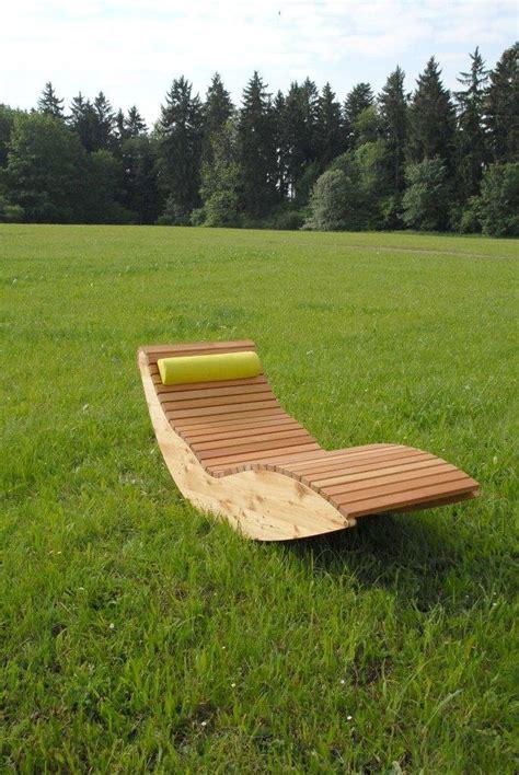 Wippliege Querlattung Aus Holz, Für Den Garten Und
