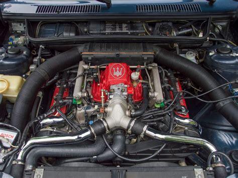 Maserati Motor by Maserati Biturbo Der Retter