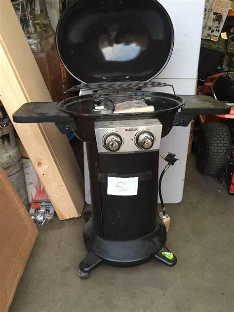 brinkmann 2 burner patio propane gas grill missing 1 wheel