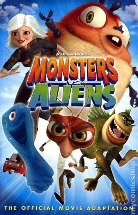 monsters  aliens gn  titan comic books