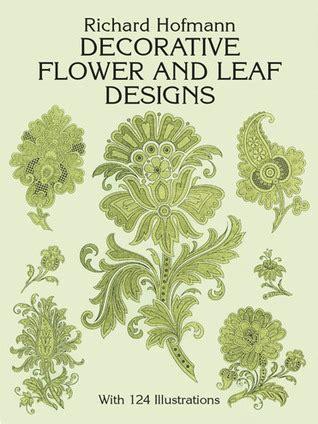 decorative flower  leaf designs  richard hofmann