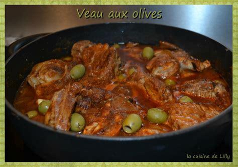 cuisine corse veau aux olives veau aux olives la cuisine de lilly