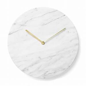 Menu Marble Clock - Discontinued HEAL'S