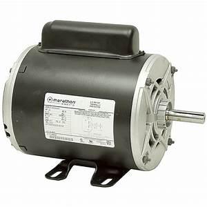 3  4 Hp 3450 Rpm 115 Vac Air Compressor Motor