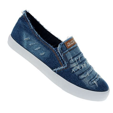 New Spring Summer Men Shoes Fashion Breathable Denim
