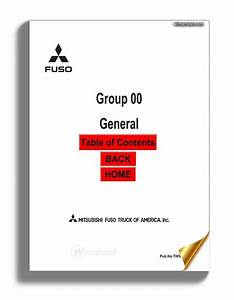 Mitsubishi Fuso 2005 Fe Fg Service Manual