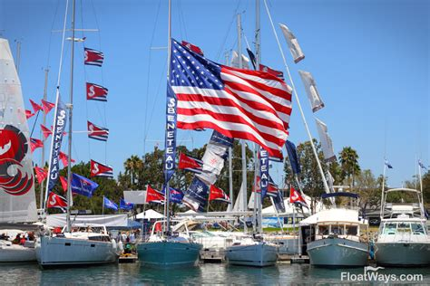 Big Boat Flags by Buy A Motor Or Sailing Yacht At The San Diego Yacht And