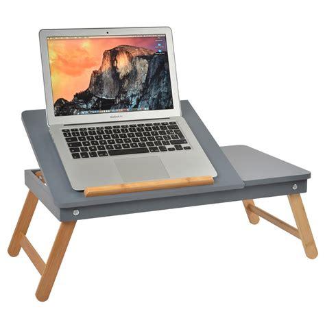 canapé pliable table ordinateur nomade grise la chaise longue