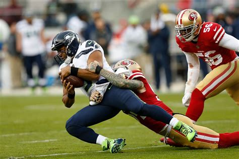 ers snap count  seahawks week   defenses