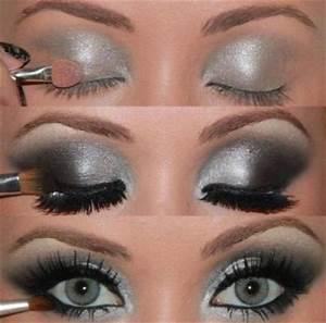 Maquillage Yeux Tuto : maquillage yeux gris tuto blog speciale beaute ~ Nature-et-papiers.com Idées de Décoration