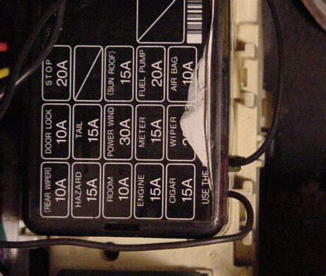 Fc Rx7 Fuse Box by Interior Fuse Box Cover Diagram Rx7club Mazda