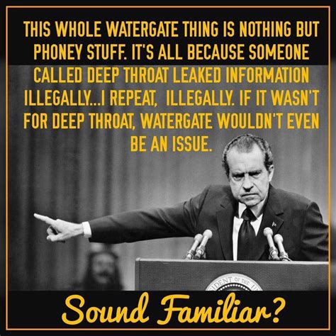 Nixon Memes - fact check did president nixon say watergate details were illegally leaked by deep throat
