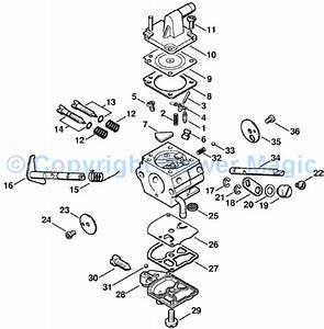 Stihl Bg85 Blower Parts Diagram
