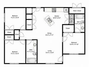 three bedroom flat floor plan - 28 images - apartment