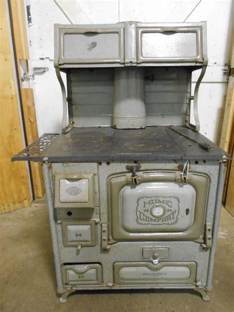 antique vintage wrought iron range home comfort cast iron