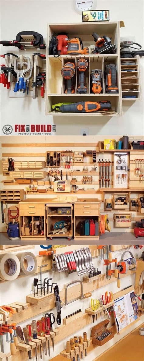 21 Great Ways To Easily Organize Your Workshop And Craft