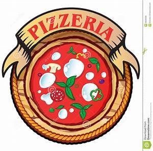 Pizzeria icon stock illustration Image of fast, badge