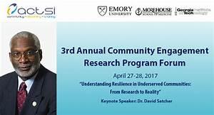 Community Engagement Research Program (CERP) Forum