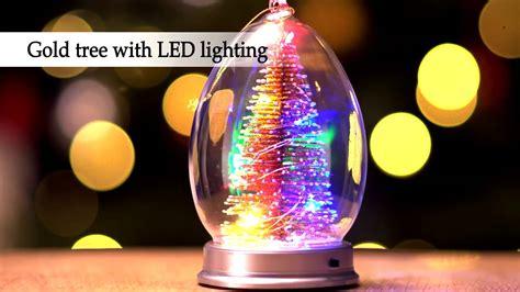 glass christmas light box light up glass christmas tree youtube