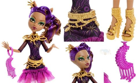 Monster High Clawdeen Wolf Doll Only .99