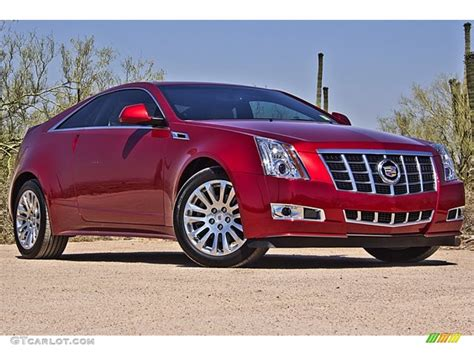 Cadillac Red Tintcoat Paint