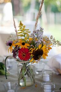 Colorful Wildflowers Centerpieces – Top Cheap Easy Party ...