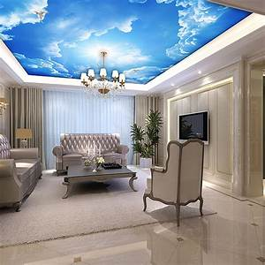 27 Ceiling Wallpaper Design and Ideas