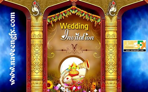 indian wedding banner psd template   wedding