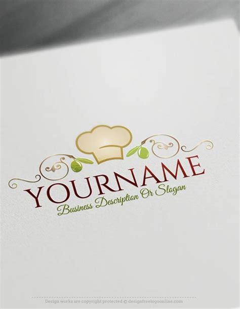 create  logo  chef cuisine logo templates