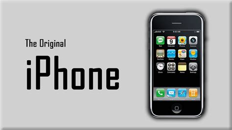 the original iphone the original iphone changing an industry doovi