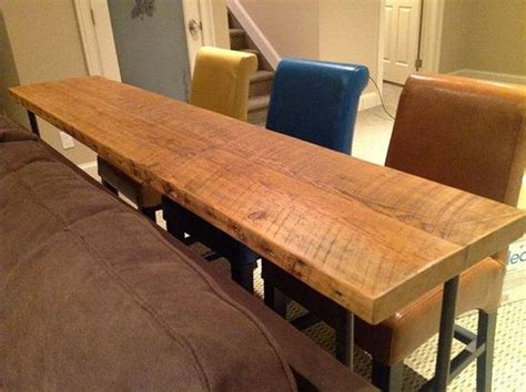 narrow table behind couch adorable narrow behind the sofa table follow this http