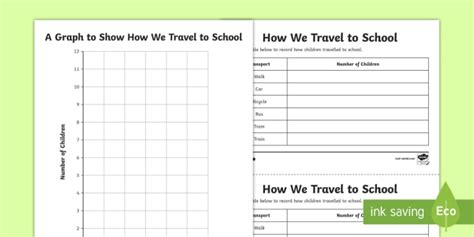 ks2 simple bar chart differentiated worksheet activity