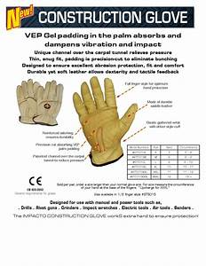 Impacto Full Finger Carpal Tunnel Gloves Conforms To