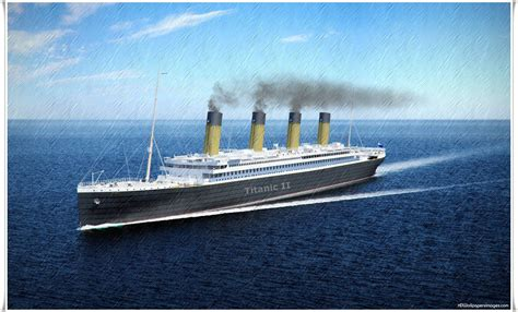 The Titanic Boat by Titanic 2 Wallpapers Wallpaper Cave