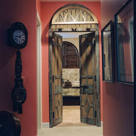 antique doors repurposed