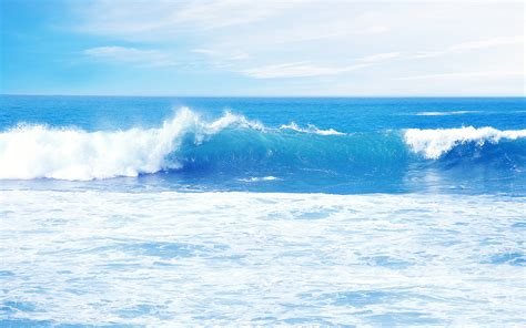 Ideal Light Blue Wave  2560 X 1600  Water Photography