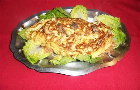 cuisiner les coulemelles omelette farcie aux coulemelles recette dukan pl par