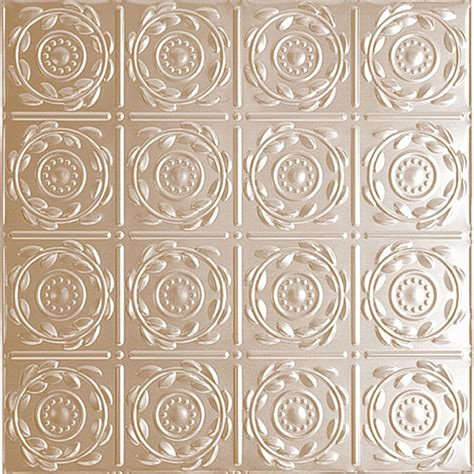 fasade dome galvanized steel ceiling tile 2x2 the home depot canada