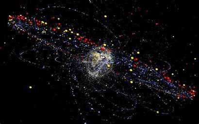 Space Junk Earth Debris Rocket Syndrome Kessler