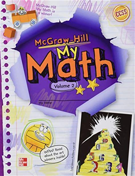 Mcgraw Hill Math Textbook Grade 5  9780021150243 My Math Grade 5 Vol 1 Abebooksbuy Mcgraw Hill